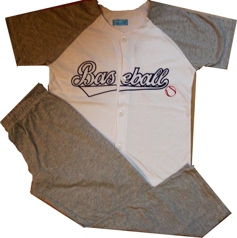 Size 8-16Years Tasidaben Big Boy 2 Piece Pajama Set BASEBALL