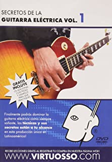 Virtuosso Electric Guitar Method Vol.1 (Curso De Guitarra Eléctrica Vol.1)