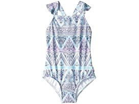 8c5af9dd6579 Seafolly Kids Nanas House Ruffle One-Piece (Infant/Toddler/Little Kids)