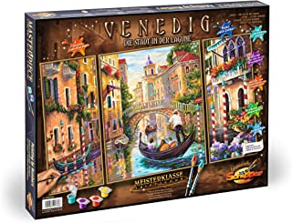 Schipper Adult Paint By Number: Venice The City in the Lagoon Model Kit