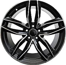 22 Inch Rims Fit Audi A5 A6 A7 A8 S5 S6 S7 S8 RS5 RS6 RS7 Q5 Q7 SQ5 SQ7 Black Machined Wheels
