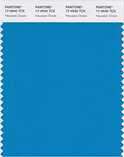 PANTONE Smart 17-4540X Color Swatch Card, Hawaiian Ocean