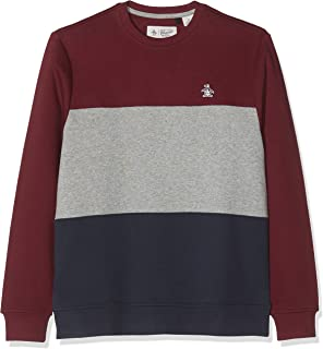 Original Penguin Men's Colour Block Sweatshirt