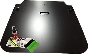 AlphaVinyl Jeep Wrangler Jk Blackout Hood Decal 2007-2018 Wranglers Stickers Matte Black Anti Glare