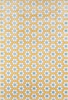 Novogratz Terrace Collection Hex Tile Indoor/Outdoor Area Rug, 2'0
