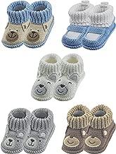 RATIVE Handmade Baby Booties Crochet for Unisex Newborn Boy Girl