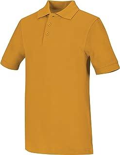 Classroom Big Boys' Uniform Pique Short Sleeve Polo