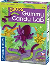 Gross Gummy Candy Lab - Worms & Spiders! Sweet Science STEM Experiment Kit, Make Your Own Gummy Candies in Cool Shapes & C...