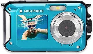 AgfaPhoto Realishot WP8000 Digitalkamera 24 Megapixel Blau inkl. Akku, inkl. Tasche Unterwasserkamer