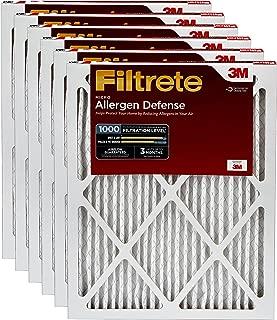 Filtrete AD21-6PK-1E エアフィルター 18インチ x 24インチ。 x 1インチ、ホワイト。