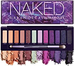 Urban Decay Naked Ultraviolet Eyeshadow Palette, 12 Vivid Neutral Shades with Purple Pop - Ultra-Blendable, Rich Colors wi...