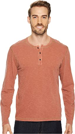 Pintail Long Sleeve Henley Slub Jersey