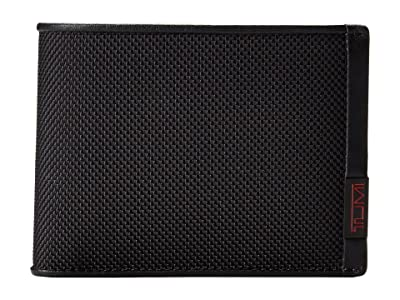 Tumi Alpha Double Billfold (Black) Bill-fold Wallet