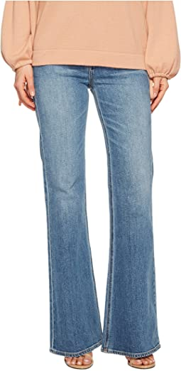 Wide Leg Flare Jeans in Santa Fe