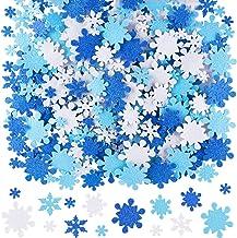 ~ Sparkle Snowflakes Christmas Winter Blue Hambly Studio Glitter Stickers ~