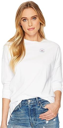 Converse - Shine Pack LT Chest CP Long Sleeve T-Shirt