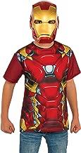 Rubie's Costume Captain America: Civil War Iron Man Child Top and Mask, Medium