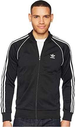 Adidas originals superstar track jacket mens