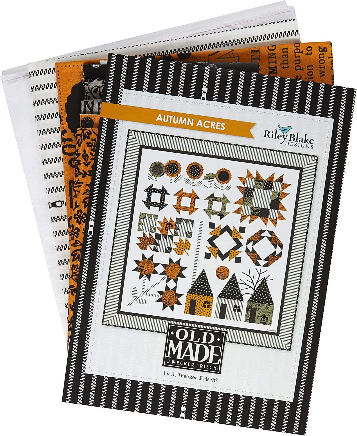 Riley Blake Courier shipping free shipping Autumn Quilt Acres Kit Max 83% OFF