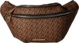 Signature Double Zip Fanny Pack
