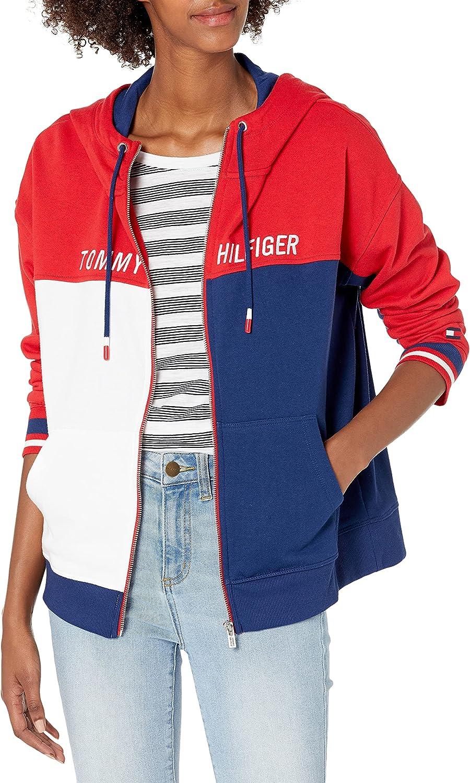 Tommy Hilfiger Women's Front Zip Hoodie