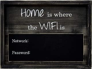 Traverse Ridge | WiFi Chalkboard, Large | Rustic Wood 12