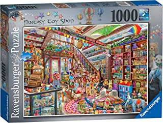 Ravensburger Aimee Stewart The Fantasy Toy Shop 1000 Piece Jigsaw Puzzle for Adults & for Kids Age 12 and Up