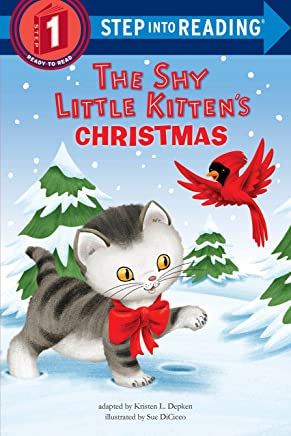 The Shy Little Kitten's Christmas (Step into Reading)