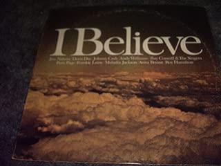 I Believe Vinyl Lp Jim Nabors,johnny Cash,roy Hamilton
