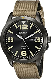 SEIKO Solar Nylon Strap Watch