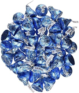 Hersheys Kisses Blue Cookies and Cream 4.25 Pounds Approx. 425 Kisses