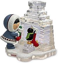 Hallmark Keepsake Christmas Ornament 2018 Year Dated, Frosty Friends Hanging Stockings