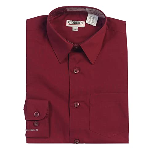 defd58436 Burgundy Shirt for Toddler Boy: Amazon.com