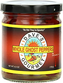 Dave's Gourmet Peppers, Whole Ghost, 6.5 Ounce
