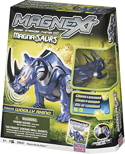"MEGA BLOCKS Magna Saurs  olly Rhino"""