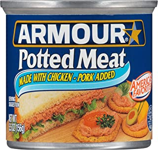 Armour Potted Meat, Keto Friendly, Chicken & Pork (24) 4.6-oz