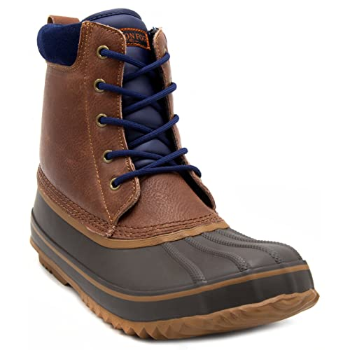 ed685eb41214b8 London Fog Mens Ashford Waterproof and Insulated Duck Boot