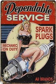 Best vintage spark plug signs Reviews