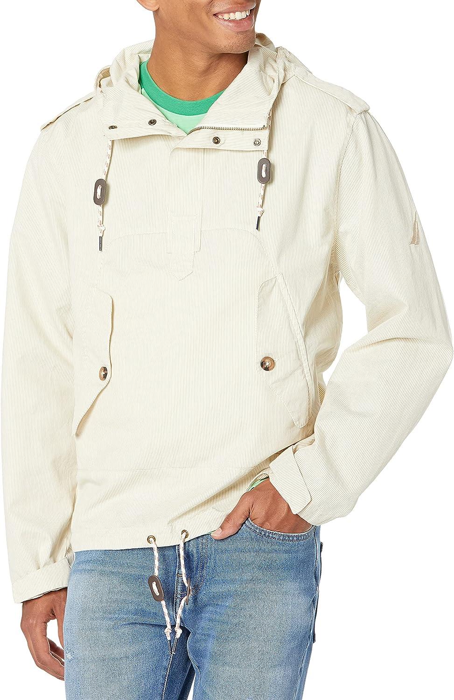 Nautica Men's Pinstripe Anorak Jacket