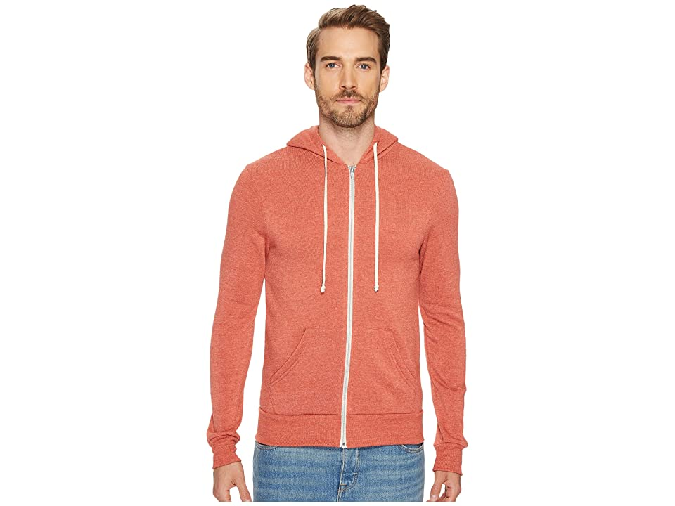 Alternative Rocky Zip Hoodie (Eco True Burnt Rock) Men