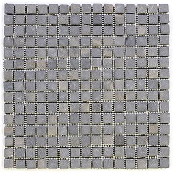1 qm M-004 Mosaik-Fliese Bad Bruchmosaik Küchenfliesen Marmormosaik Marmor