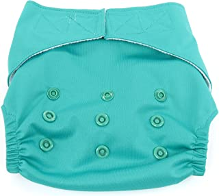 Dandelion Diapers Diaper Covers - Diaper Cover Shell with Hook and Loop- One Size - Compare to Grovia Shell - Seaglass