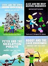 MINECRAFT: Minecraft Fairy Tales (Book 1, 2, 3 & 4) (minecraft diaries, minecraft books for kids, minecraft adventures, mi...