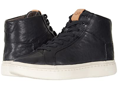 UGG Cali Sneaker High (Black Leather) Men