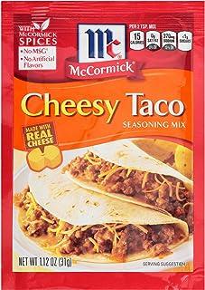 McCormick Cheesy Taco Seasoning Mix, 1.12 Oz, Pack of 12