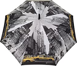 SMATI Stick Automatic Umbrella - Auto Open - Stripe - Resistant to Wind
