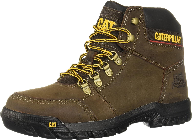 Caterpillar Män's Outline Work Boot, Seal bspringaaa, 10 W USA USA USA  preferentiell