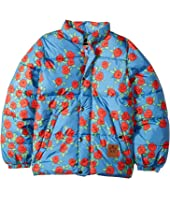mini rodini - Rose Puffy Jacket (Toddler/Little Kids/Big Kids)
