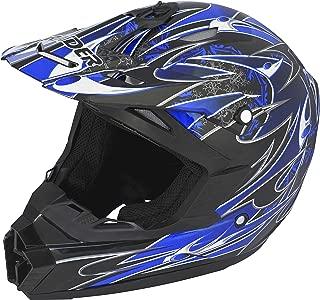 Raider Wildfire MX Helmet (Blue, XX-Large)