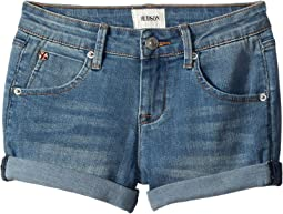 "Hudson Kids 2 1/2"" Roll Cuff Shorts in Meadow Blue (Big Kids)"